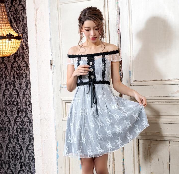 お洒落レディースファッションドレス 結婚式 ブライダル パーティー